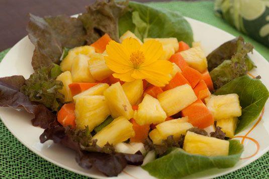 ���� - Rezept für Spiced Karotten und Ananas Sambal