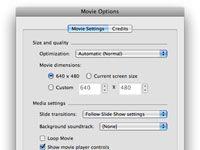 ���� - Speichern einer Powerpoint für Mac-Präsentation als Quicktime-Film