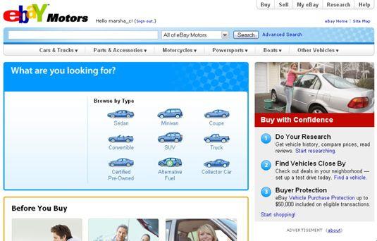 ���� - Verkaufen bei eBay Motors