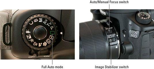 ���� - Schießen Sie im Auto-Modus auf einer Canon EOS 60D
