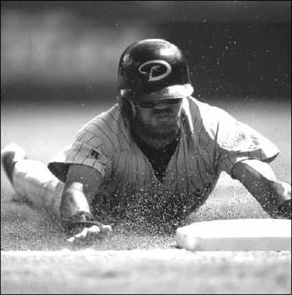 ���� - Stealing Second Base in Baseball