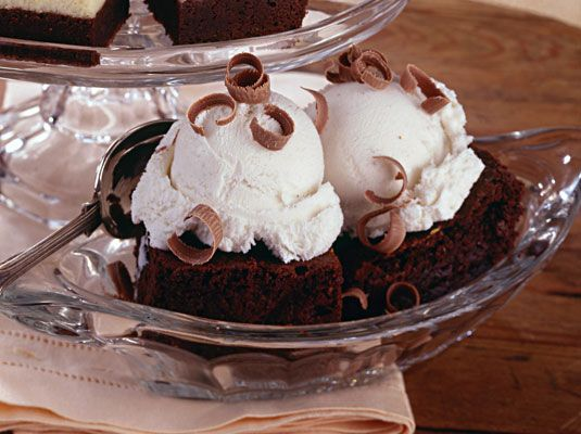 ���� - Super Fudgy Brownies