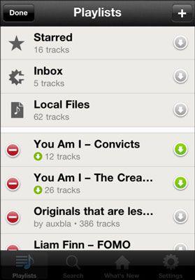 ���� - Sync Offline-Spotify Playlisten direkt von Ihrem mobilen Gerät