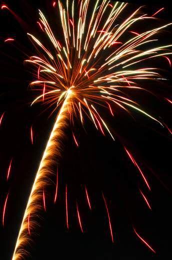 ���� - Fotografieren von Feuerwerk mit einer Canon EOS Rebel T3 / 1100D