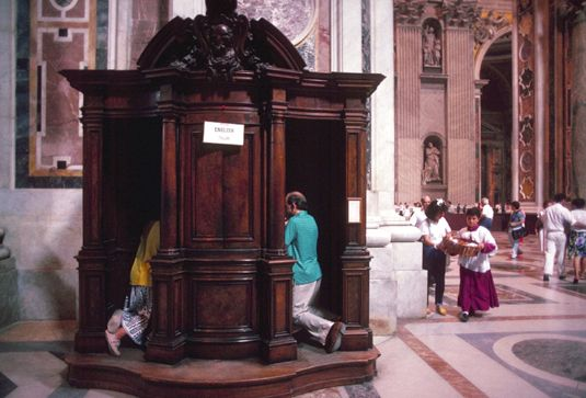 ���� - Die katholische Sakrament der Buße