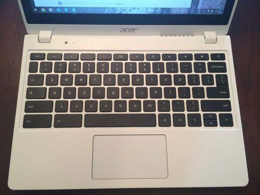 ���� - Das Chromebook-Tastatur auf einen Blick