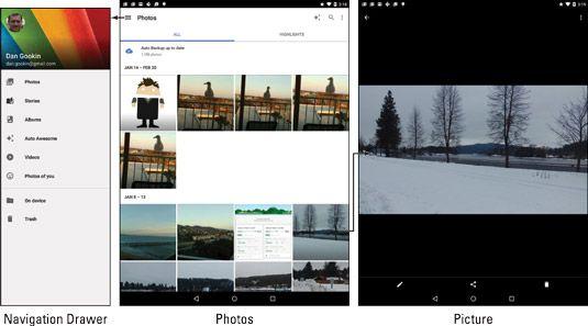 ���� - Die Digital Gallery auf Ihrem Android-Tablet