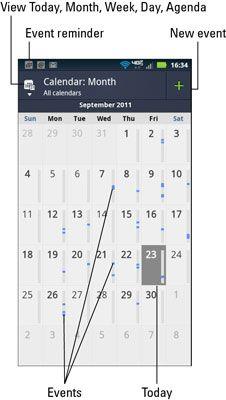 ���� - Das Droid Bionic Kalender