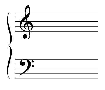 ���� - Die Großstab und Hilfslinien der Klaviermusik