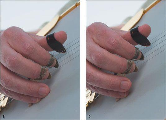 ���� - Die große Banjo Debatte: Ein Anchor Finger oder zwei?