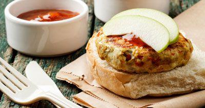 ���� - Türkei Burger und Sweet Potato Fries