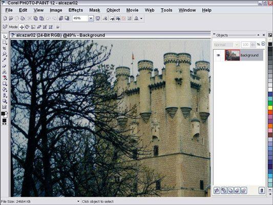 ���� - Die Arbeit an Ihrer digitalen Bilder mit Corel Photo-Paint