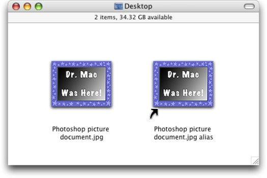 ���� - Arbeiten mit Aliases in Mac OS X