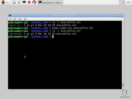 ���� - Arbeiten mit Dateiberechtigungen auf Ihre Raspberry Pi