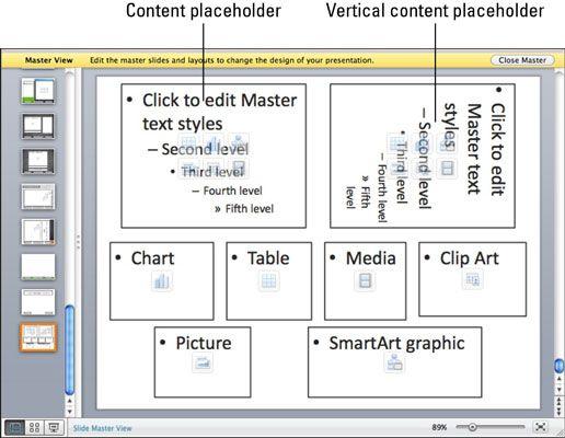 ���� - Arbeiten mit Folienmaster Layouts in Powerpoint 2011 für Mac