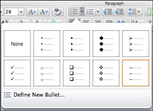 ���� - Arbeiten mit Text Platzhalter in Powerpoint 2011 für Mac