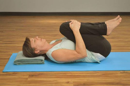 ���� - Yoga-Stellungen, die Entlasten Lower Back Tension