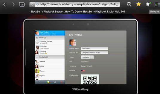 ���� - Ihre Ansprechpartner-Datenbank auf Ihrem Blackberry Playbook