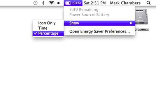 ���� - Ihr MacBook eingebautes Battery