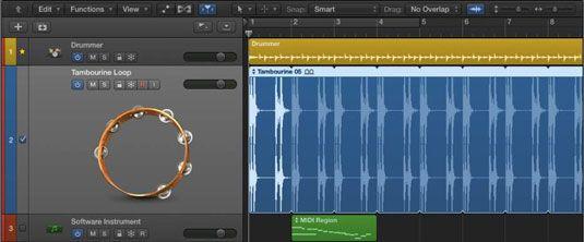 ���� - Zooming Tracks in Logic Pro X