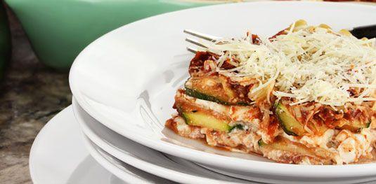 ���� - Zucchini-Lasagne-Rezept